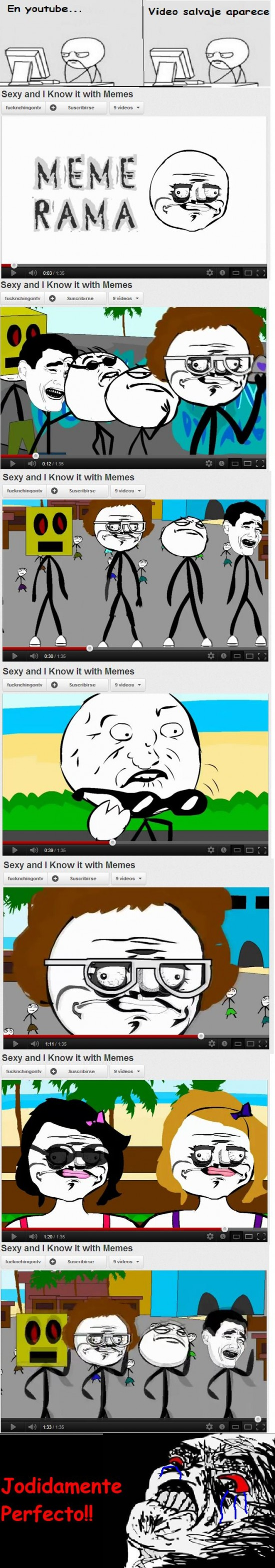 Memes,sexy and i know it,youtube
