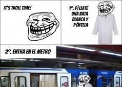 Enlace a Trolleando en el metro