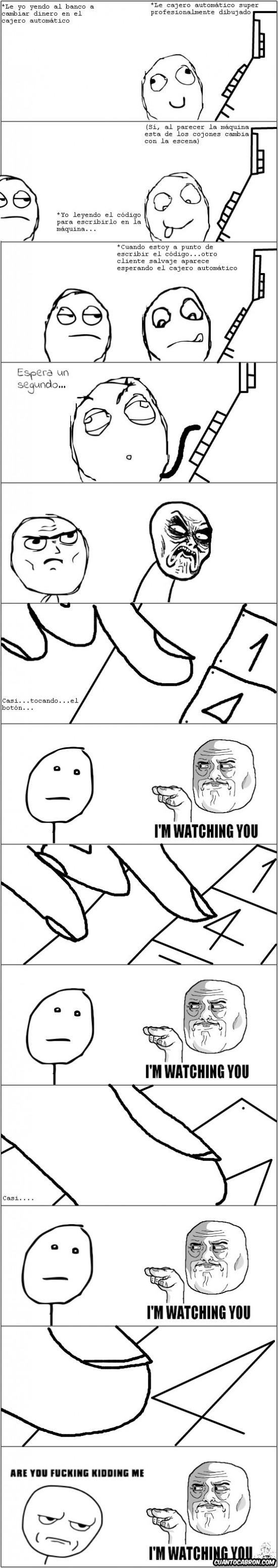 Im_watching_you - A mí nade me mira el código secreto