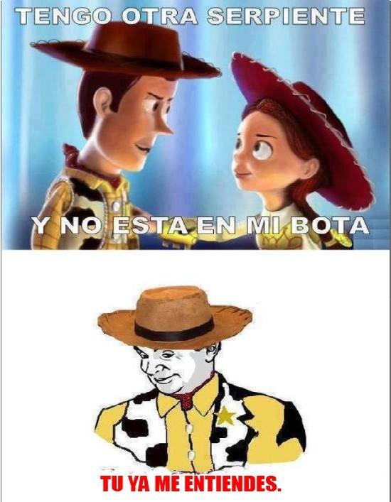 mr bean,serpiente,troll,tu ya me entiendes,Woody