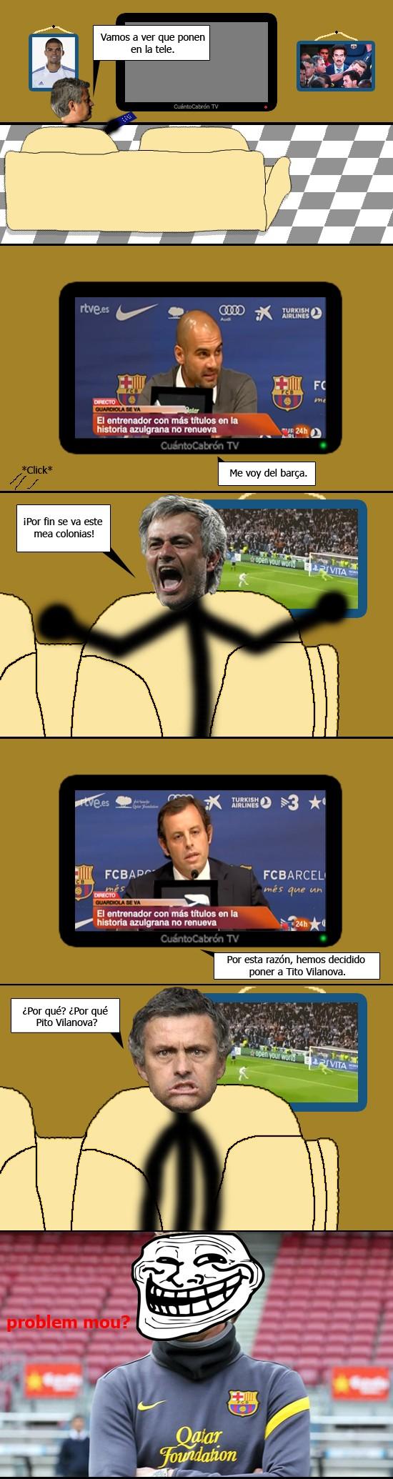 Trollface - ¡Guardiola se va!