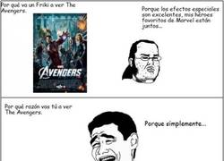 Enlace a Razones para ver The Avengers