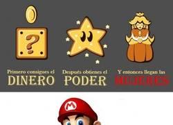 Enlace a Super True Mario Story
