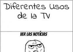 Enlace a Usos de la TV