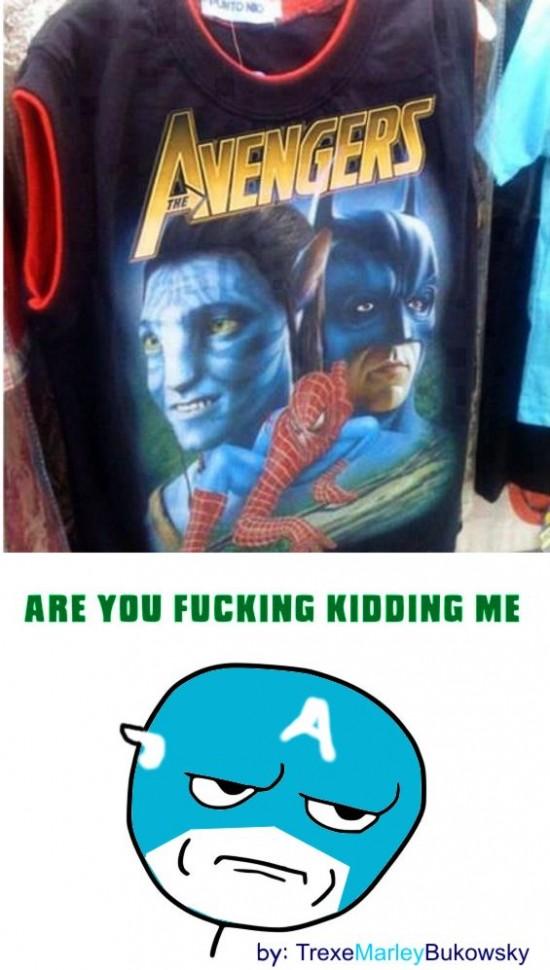 Kidding_me - ¿Avengers?