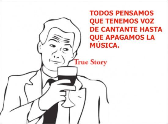 canción,Musica,True Story,voz