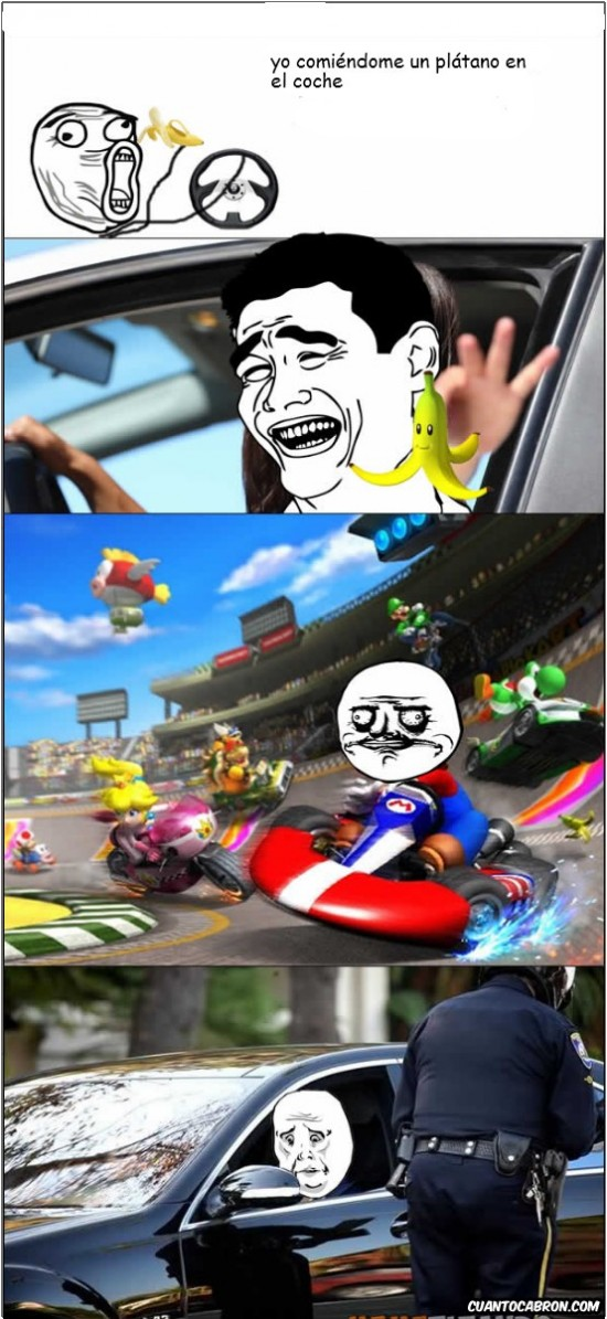 Okay - Feel like mario kart