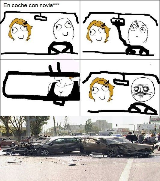 Me_gusta - En el coche con novia