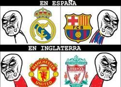 Enlace a Fútbol según algunos países