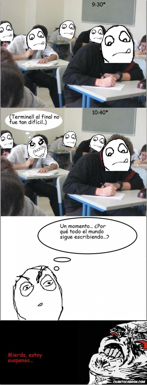 Inglip - En el examen