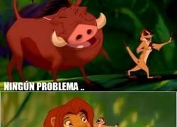 Enlace a Ningún problema