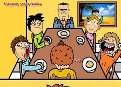 Enlace a Cena familiar