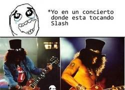 Enlace a Slash en concierto