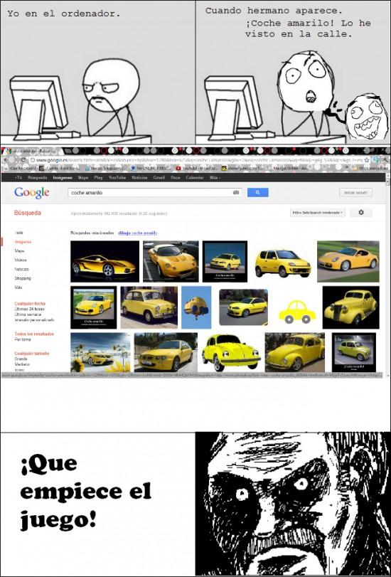 Mirada_fija - Malditos coches amarillos
