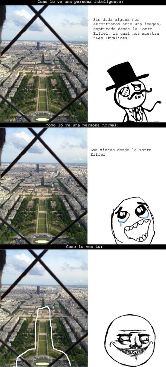 Me_gusta - Vistas desde la Torre Eiffel