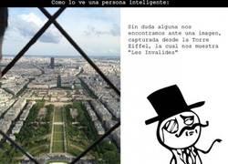 Enlace a Vistas desde la Torre Eiffel