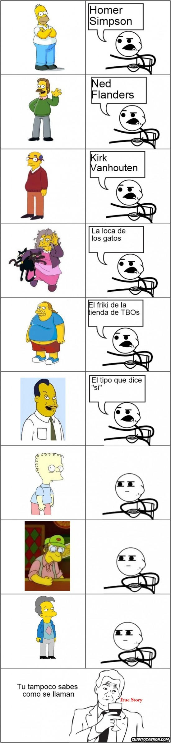 Cereal_guy - Nombres en los Simpson