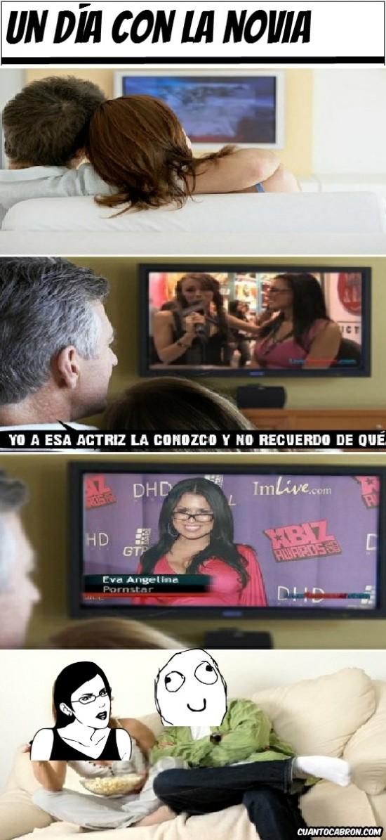 actriz,are you serious?,mierda,porn star,tele