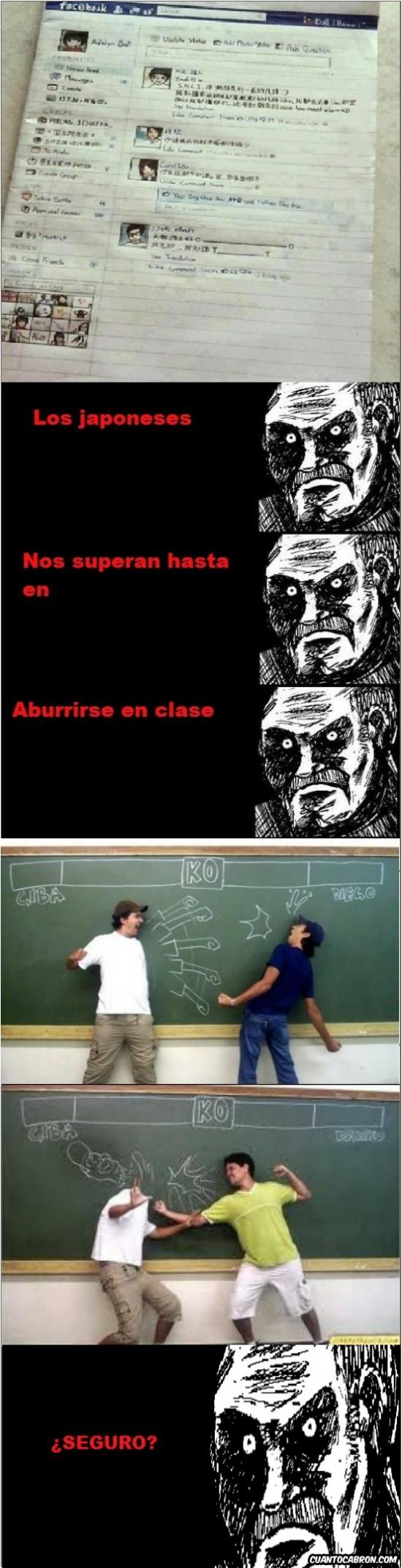 aburrirse en clase,españoles,pizarra