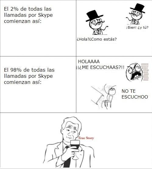 Ffffuuuuuuuuuu - Típico en Skype