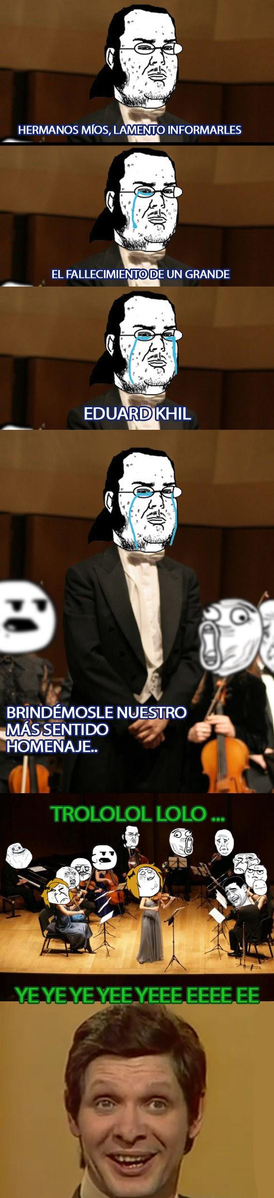 Eduard Khil,forever alone,friki,lol,memes,otros,trollface,trololo