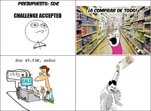 Freddie_mercury - En el supermercado