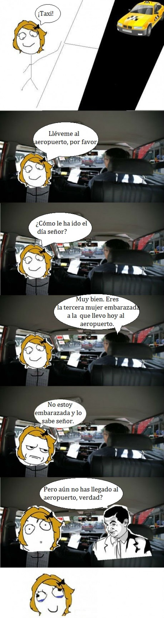 aeropuerto,If you know what I mean,mujer,taxi,taxista violador