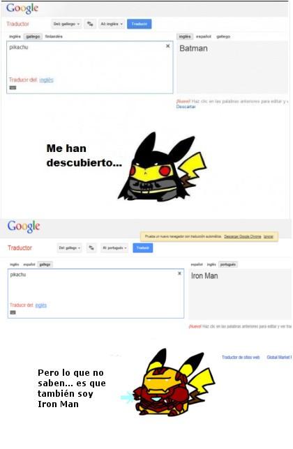 Otros - La triple identidad de pikachu