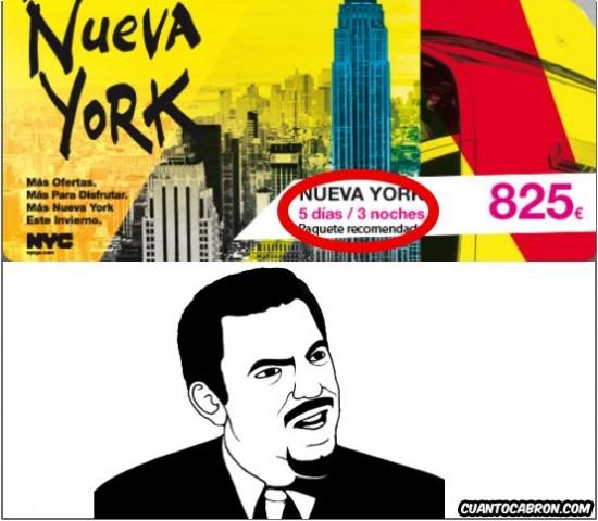 5 dias 3 noches,Nueva York,viaje,wtf