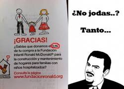 Enlace a McDonald's ¿solidario?
