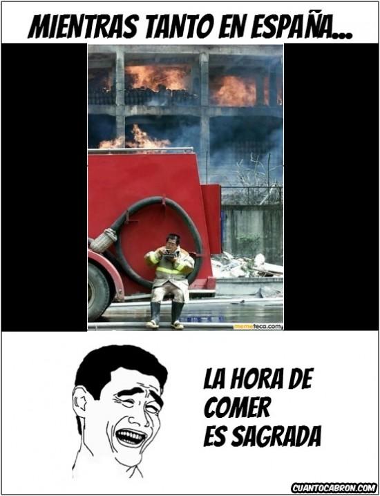 Yao - Los bomberos españoles
