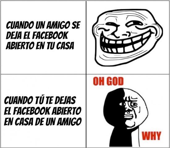 Oh_god_why - Troleando en el Facebook