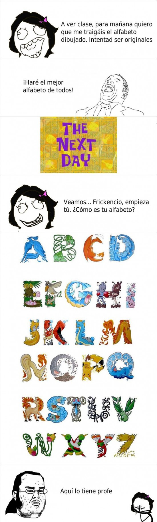 Friki - El alfabeto