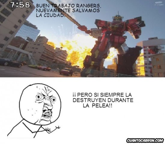 Y_u_no - Buen trabajo, Power Rangers