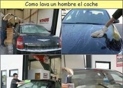 Enlace a Cómo lavar el coche