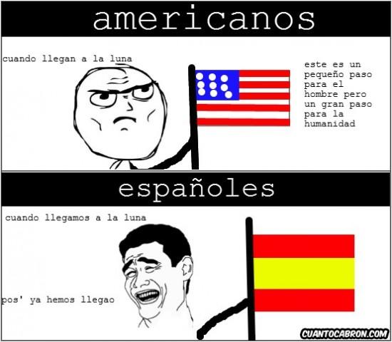 Yao - Frases españolas vs frases americanas