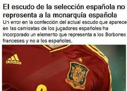 Enlace a Error en la camiseta de la selección española