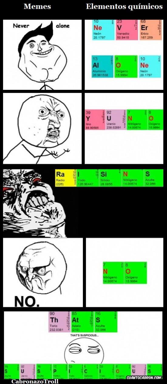 Mix - Elementos químicos y memes