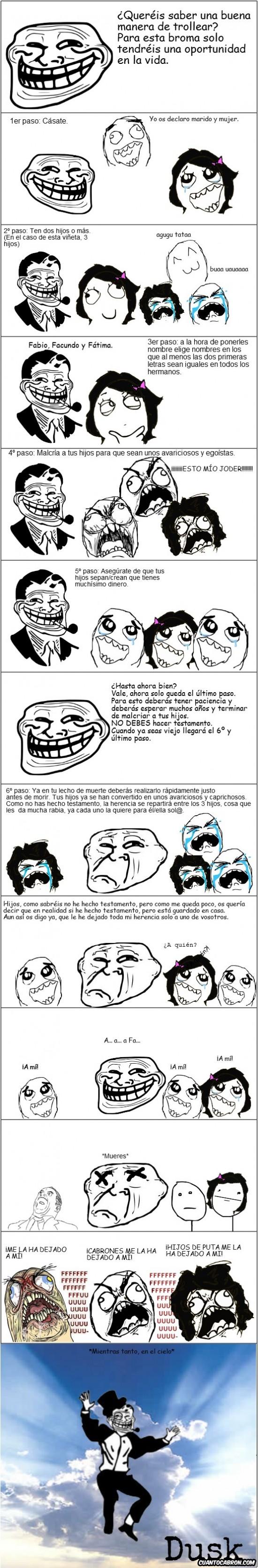 Trollface - Broma troll preparada durante toda tu vida