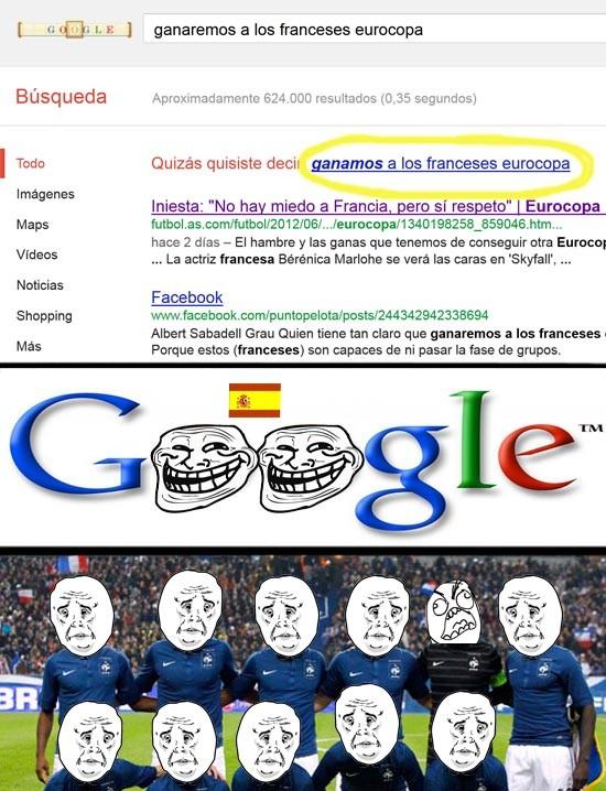 Trollface - Predicción de Google