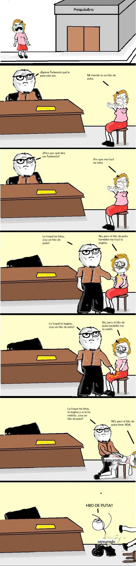 desk flip,marido,pecho,psiquiatra,sida