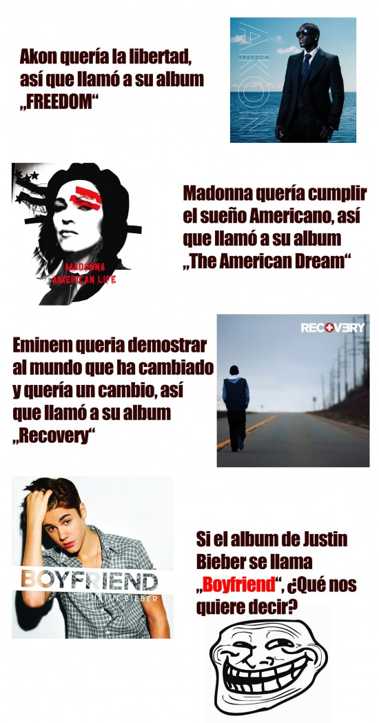 Trollface - Problem, Bieber?