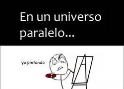 Enlace a Pintando en un universo paralelo