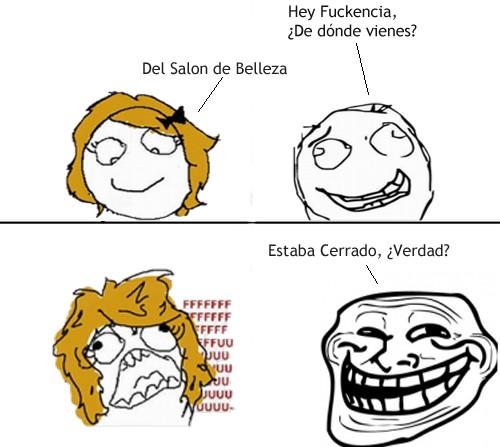 Trollface - Ya sabes cómo tomarle el pelo a tu novia la próxima vez