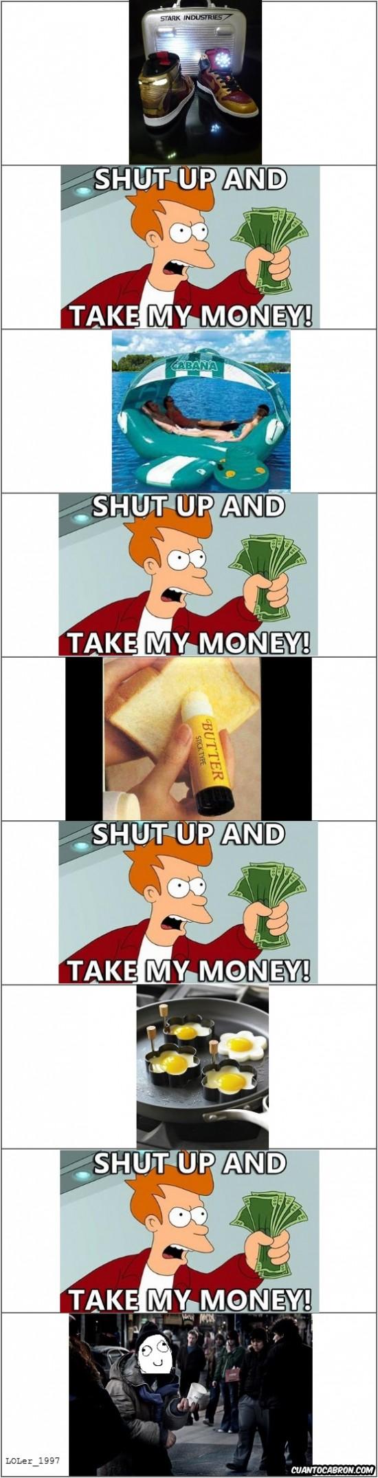 Fry - Tanto gastarte la pasta, esto se veía a venir