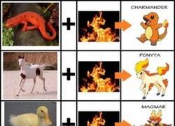 Enlace a Pokémon de fuego
