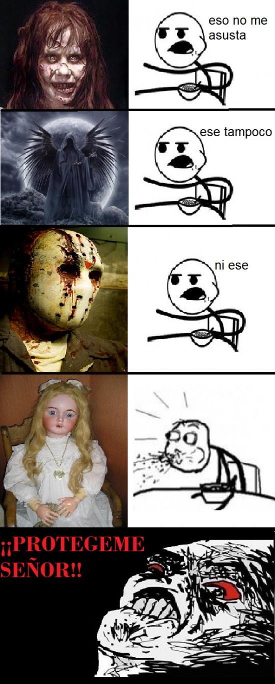 cereal guy,miedo,muñeca primera comunión,películas,terror