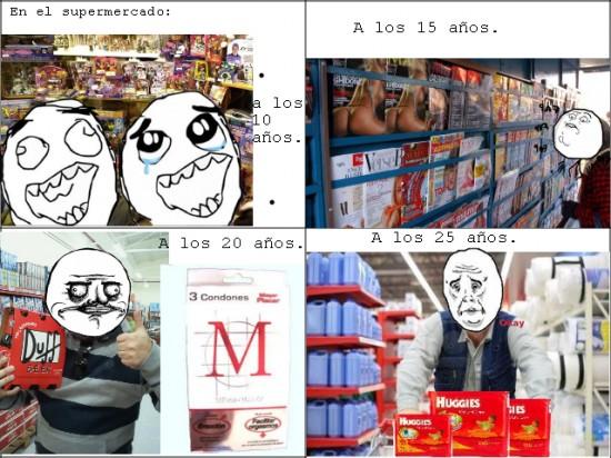 cervezas,condones,me gusta,okay,pañales,revistas