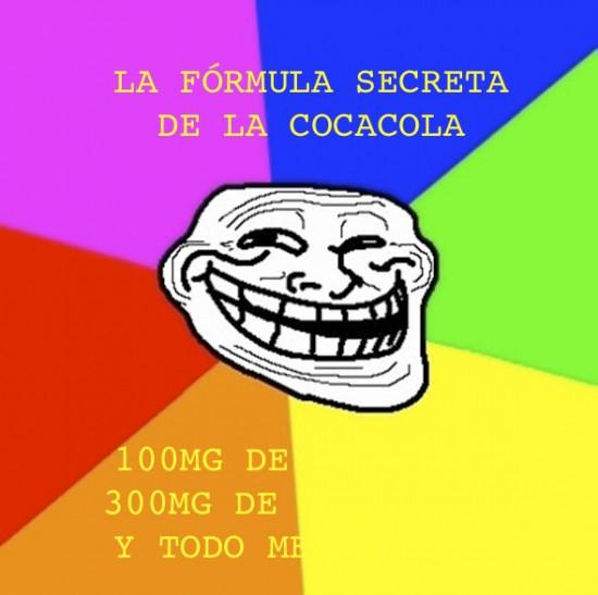 Trollface - La fórmula de la Cocacola