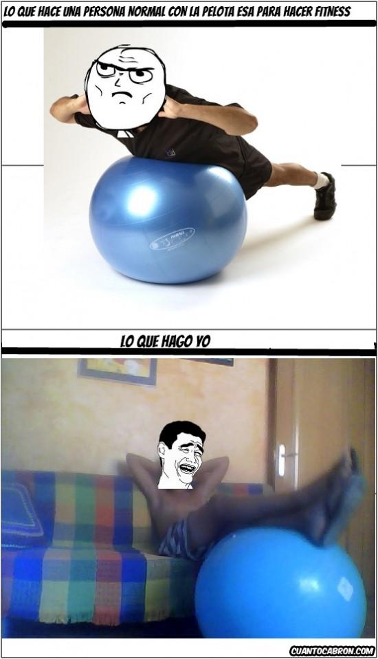 Yao - El fitness, los cojones